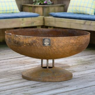 36-Elliptical-Fire-Pit-on-Flanged-Base